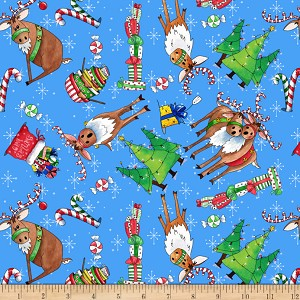 Quilting Treasures Reindeer Antics 27217-B