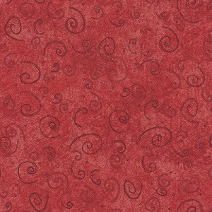 Cottage Basics Red Curls 21122-RED1