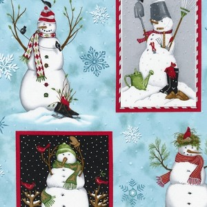 Robert Kaufman Holly Jolly Christmas 4 13669-87 Snow