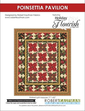 Robert Kaufman Holiday Flourish 9 Free Quilt Project