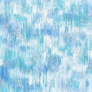 Robert Kaufman Fusions Brushwork Metallic SRKM-18059-88 ICE