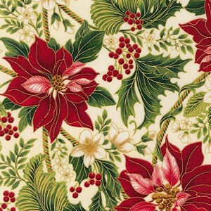 Robert Kaufman Holiday Flourish 9 15763-223 Holiday