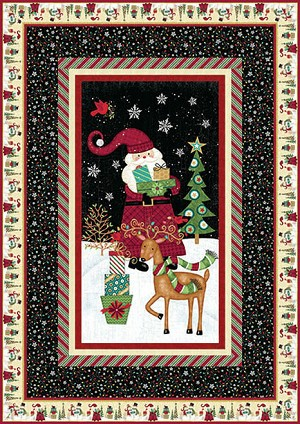 Studio E Holly Jolly Christmas Free Pattern