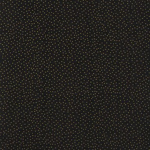 Timeless Treasures Christmas Morning Metallic Dots CM9528 Black