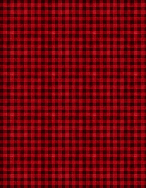Wilmington Prints Hot Cocoa Bar Gingham Red/Black 3017-27602-399