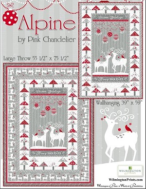 Alpine Pattern free download from Wilmington Prints