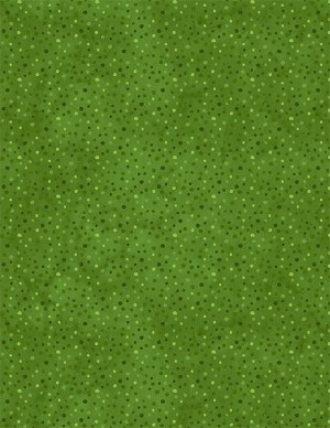 Wilmington Prints Essentials Petite Dots 39065-777 Green